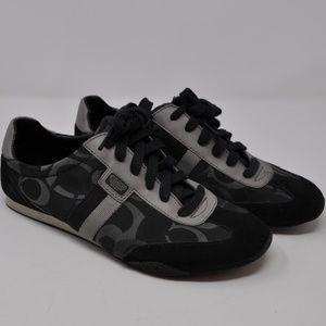 COACH Women's Black Kinsley Sneaker Size 9.5M